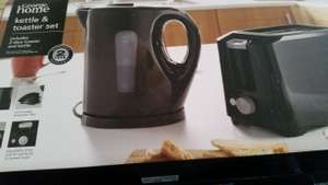 Asda kettle and toaster set £10 instore