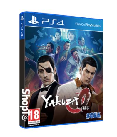 Yakuza 0 [PS4] £21.85 @ Shopto