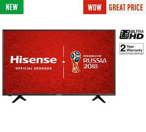 Hisense H43N5300 43 Inch 4K Ultra HD Smart TV £329.00 @ Argos