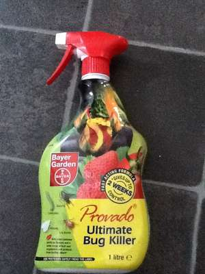 Provado 1 litre Ultimate Bug Killer 75% off now only £1 Tescos instore only was £4 , found Chelmsford town centre store