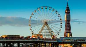 Free entry to Blackpool pleasure beach on 7th and 8th Sept