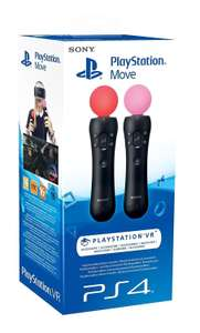 Sony PlayStation Move Motion Controller - Twin Pack £49.99 Instore @ Tesco