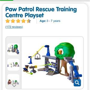 Paw Patrol Rescue Training Centre - £14.99 instore @ The Entertainer