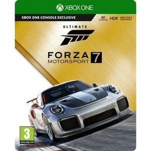 First post ...Forza 7 ultimate £64.99 @ Smyths