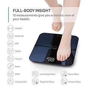 Eufy (anker brand) BodySense Smart Scale with Bluetooth £35.99 Sold by AnkerDirect and Fulfilled by Amazon.