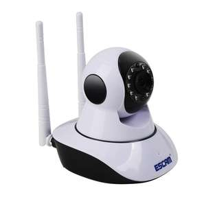 ESCAM G02 Dual Antenna 720P Pan/Tilt WiFi IP IR Camera £15.76 @ Banggood