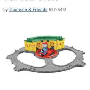Fisher-Price Thomas take n play tidmouth sheds £10.99 in Argos.
