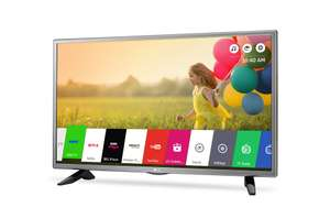 LG 32LH570U Silver 32inch LED HD Smart TV with Freeview HD £199 Del @ Co-op Electrical