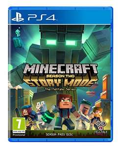 Minecraft Story Mode - Season 2 Pass Disc (PS4/Xbox One) £21.99 (Prime) £23.99 (Non Prime) Delivered (Preorder) @ Amazon