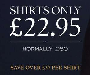 Men's Shirts  Charles Tyrwhitt offer includes non-iron and extra slim fit £22.95