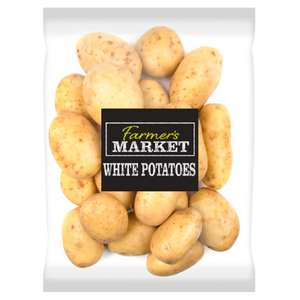 (7 Day Deal) Farmer's Market White Potatoes (2Kg) was £1.29 now 64p @ Iceland
