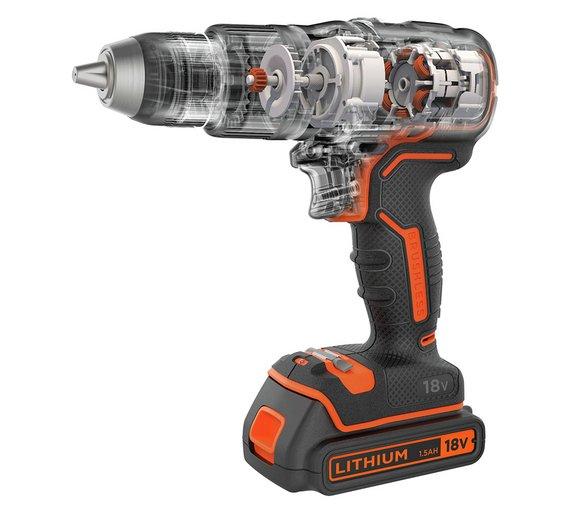 Black and Decker Brushless Cordless Hammer Drill [18V] £54.99 @ Argos