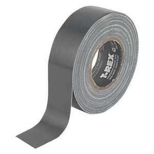T Rex Cloth Tape Super Strength 25mm x 9m £1.49 @ Screwfix C&C