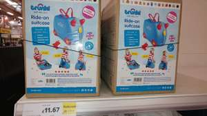Trunki Ride On Suitcase Reduced to clear Tesco Shrewsbury - £11.67
