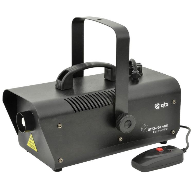 Qtx QTFX-700 MK2 Fog Machine £25 @ Amazon