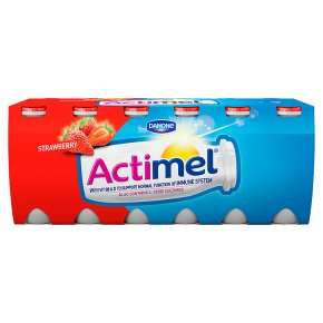 Actimel Strawberry / Multifruit / FatFree / Blueberry&Strawberry (12 x 100ml) was £3.60 now £1.80 @ Waitrose