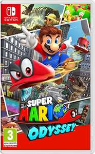 Super Mario Odyssey (Nintendo Switch) £29.99 with NUS extra code £10 Off £40 @ Amazon