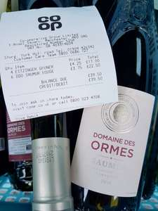Wine clearance at Coop - Domain des Ormesby Saumur 50% off (£3.75 instore)!