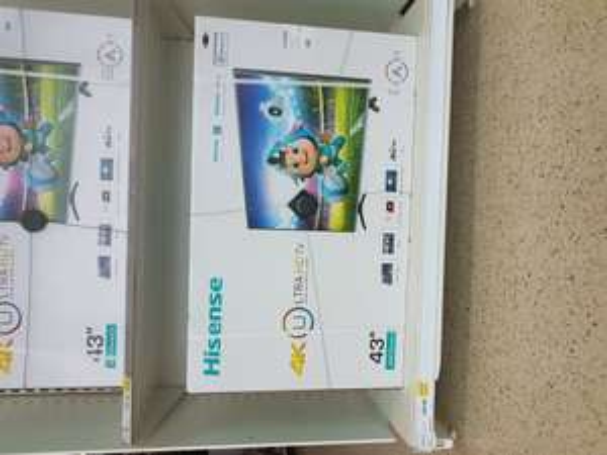 "Hisense 43"" 4K HDR TV £299 @ Tesco Portadown"