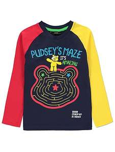 Children In Need Clothing Now @ Asda George - Maze Long Sleeve Top £3.50
