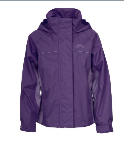girls trespass jacket (purple) £7.99 @ Trespass - Free c&c