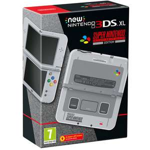 Nintendo 3DS XL New Console - SNES Edition £169.99 with code @ ToysRus