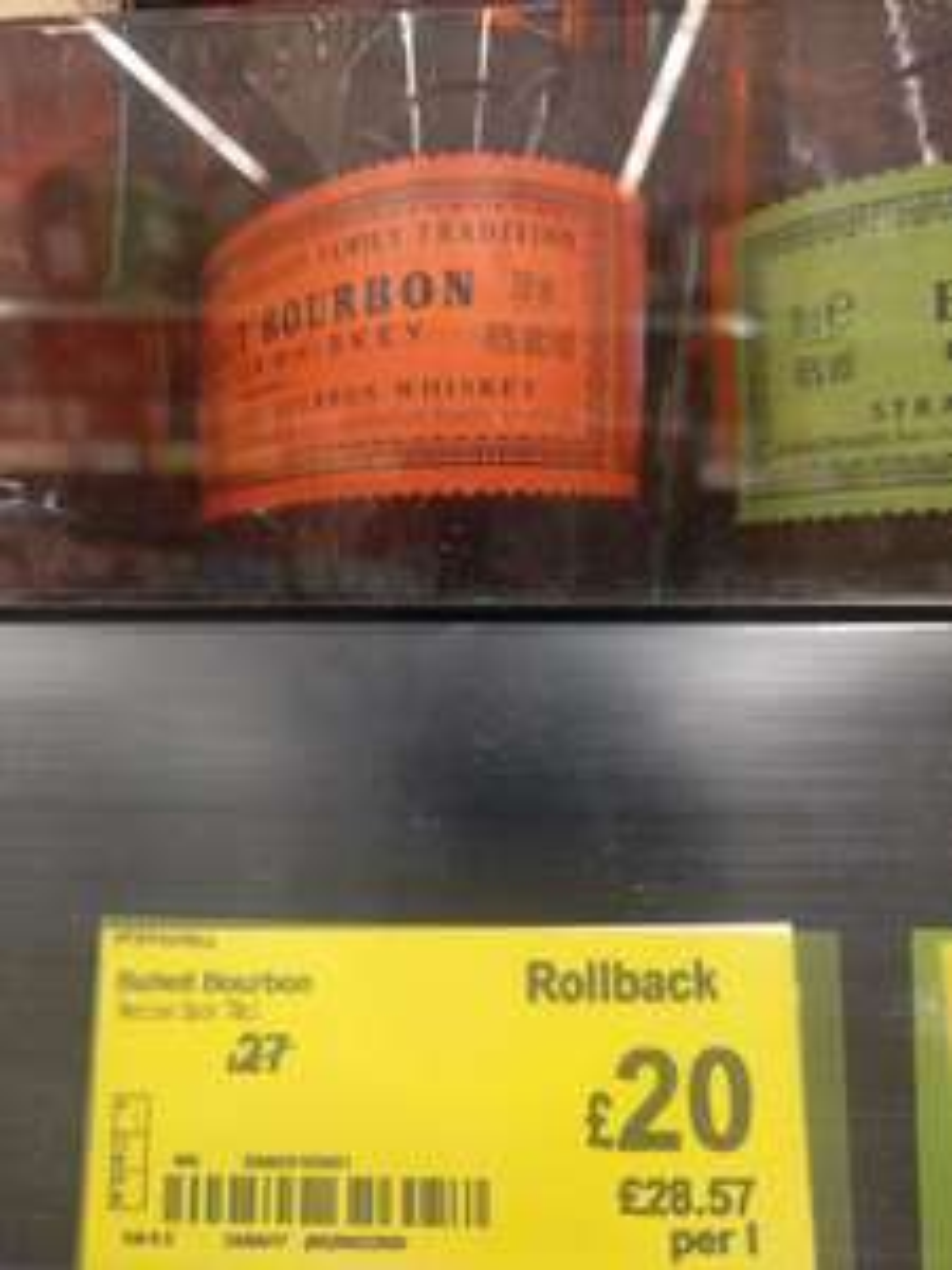 Bulleit Bourbon at Asda for £20