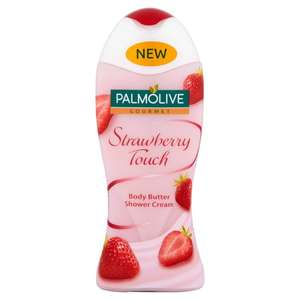 Palmolive Gourmet Strawberry / Chocolate / Gourm / Vanilla Shower Gels (250ml) was £2.49 now buy any 2 for £2.00 @ Ocado