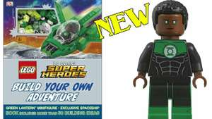 LEGO DC Comics Super Heroes Build Your Own Adventure - Green Lantern minifig £8 @ Asda instore - Eastlands
