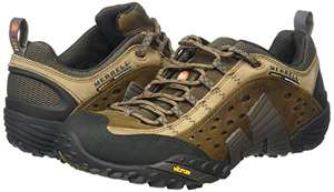 Merrell Intercept Moth Brown hiking shoes £50 from Amazon