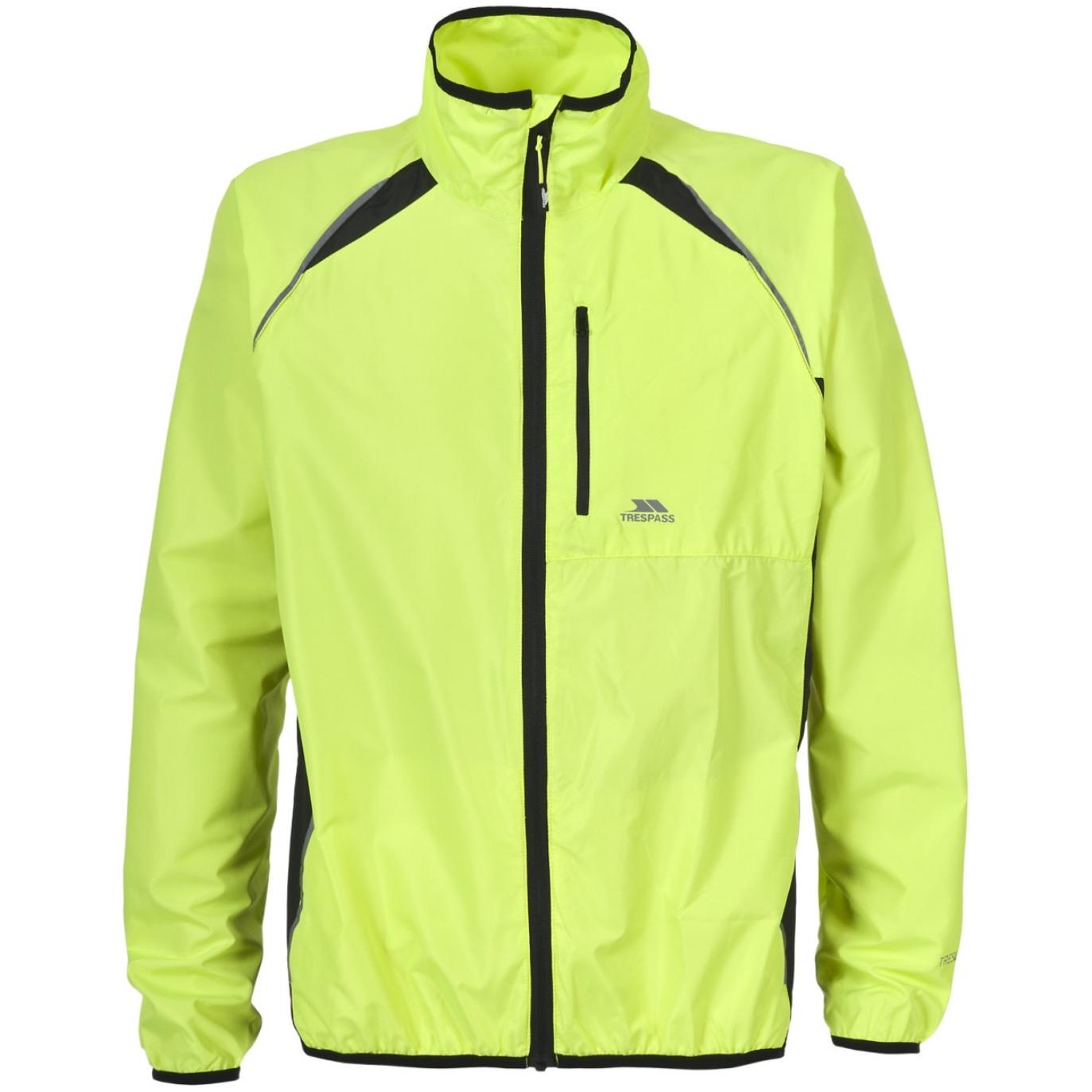 Trespass Windbloc Men's Hi-Vis Running Jacket £7.59 With Code - Free C&C