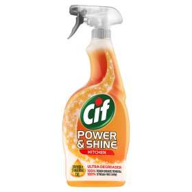 Cif Power & Shine Kitchen Spray 700ml  £1.00  Asda