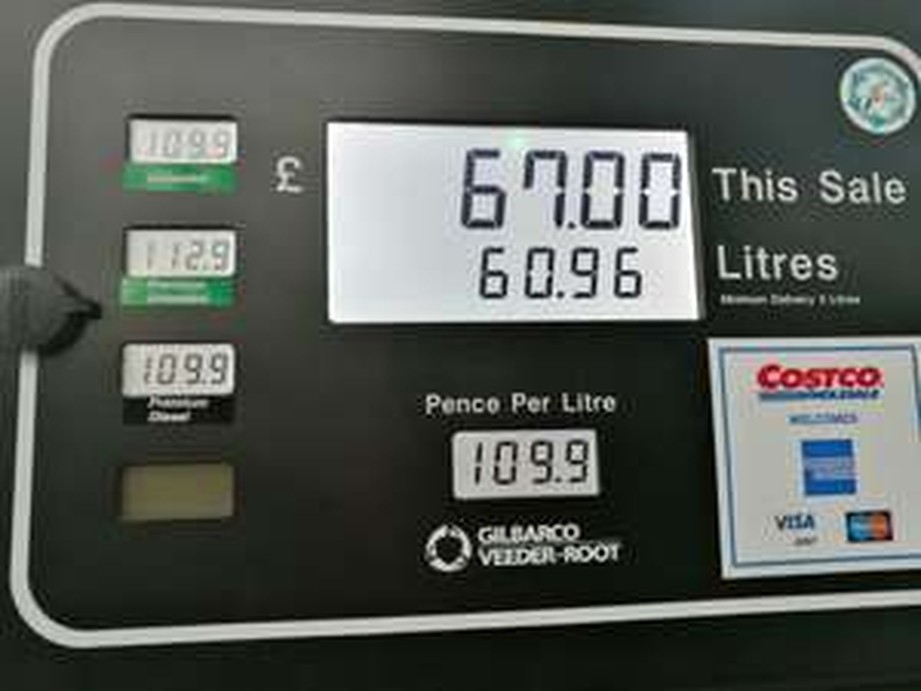 Costco fuel now in Birmingham Costco - £1.09 per litre