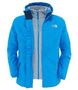 Boys NORTH FACE Elden Rain Triclimate Jacket - XL - Jake Blue £48.94 (free C&C) @ Taunton Leisure