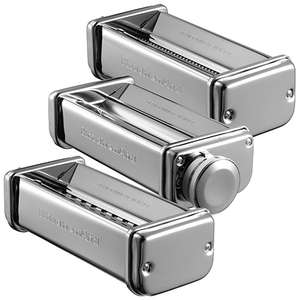 KitchenAid 3 Piece Pasta Roller/Cutter Attachments - £54.94 @ HartsOfStur eBay