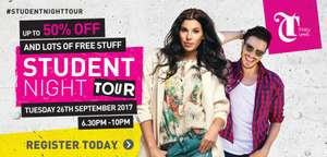 Leeds Trinity Student Night Tue 26 September
