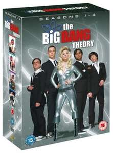 Edit 11/9/17 now £1.70 Del - 10% Off Pre-owned TV & Film - The Big Bang Theory (Pre-owned) Season 1-4 DVD - £1.89 - MusicMagpie - FREE Delivery