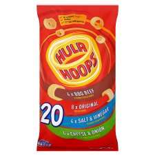 Hula Hoops Variety Pack Crisps 20 X 24 G £2.00 @ Tesco