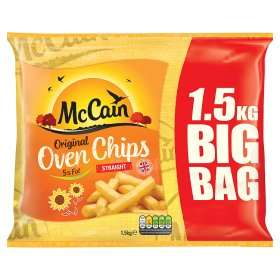 McCain Straight Cut Oven Chips £2 - Asda