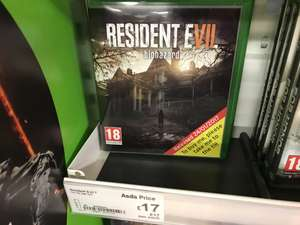 Resident Evil 7 - £17! - XBOX/PS4 - Asda Living and online