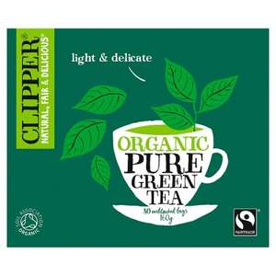 Clipper Organic Pure Green 80 Teabags 160g @ Waitrose - £1.99