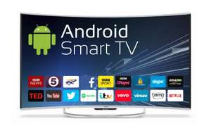 Cello 55 Inch 4K Curved Smart TV - £566.99 @ Ebuyer