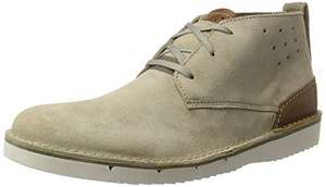 Clarks Men's Capler Mid Ankle Boots size 7-11 £21 at Amazon