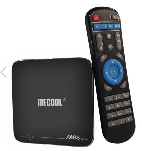 MECOOL M8S PRO PLUS Amlogic S905X Quad Core 2GB DDR3 RAM 16GB ROM Android 7.1 Box Banggood £24.34