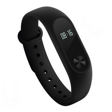 Original Xiaomi Miband 2 OLED Display Heart Rate Monitor Bluetooth Smart Wristband Bracelet - £13.35 @ BangGood