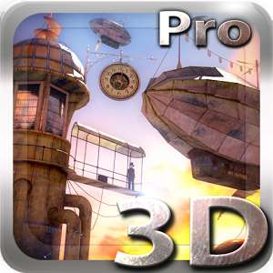 3D Steampunk Travel Pro lwp FREE (£1.09) on Google Playstore