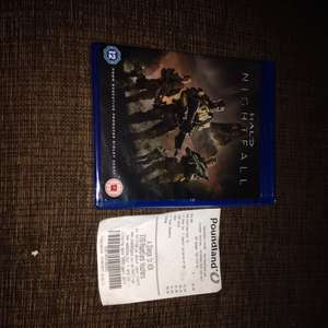 Halo nightfall £1 in Poundland blu ray