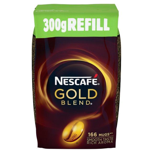 Nescafe Gold Blend refill pack 300g £3.50 instore @ Asda