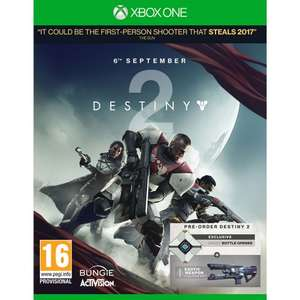 Destiny 2 + FREE Exclusive Bottle Opener + Free Delivery £43.95 @ The Game Collection