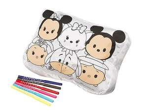 Tsum Tsum Colour Your Own Cushion £4.99 @ Tesco (Free C&C)